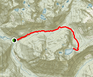 Hester Lake Trail Map
