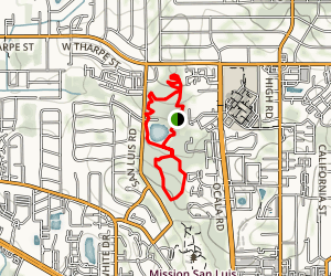 San Luis Park Loop Trail Map