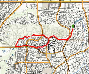 Nora Kuttner Recreational Trail Map