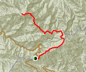 Mount LeConte via Appalachian Trail and Boulevard Trail Map