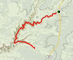 Kane Gulch Trail Map