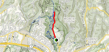 Buggy Trail Map