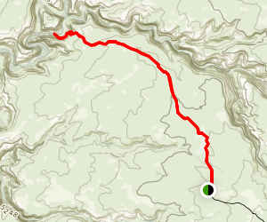 Stock Pond to Grand Gulch via Givernment Trail Map
