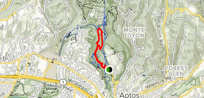 Terrace Trail Map
