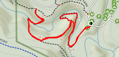 Sequoia Nature Trail Map