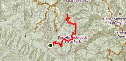 Old Paige Mill Trail Map