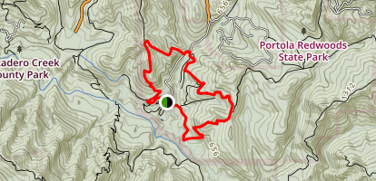 Coyote Ridge and Summit Trail Loop Map