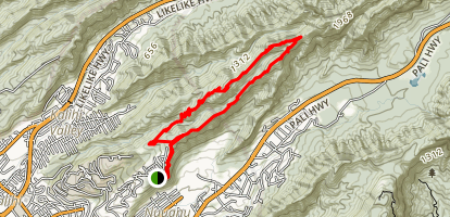 Kapalama Loop Trail Map