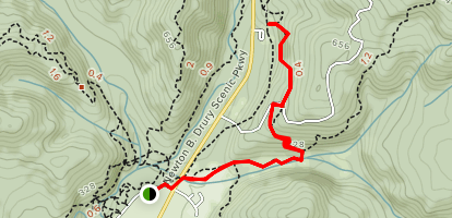 Cathedral Trees Trail Map