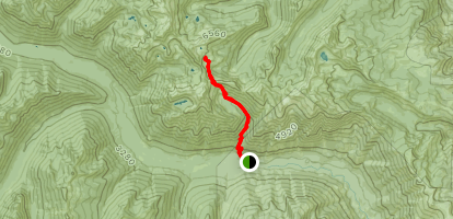 Chatter Creek Trail Map