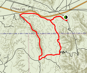 Anthony Gap-Ridge Loop Trail Map