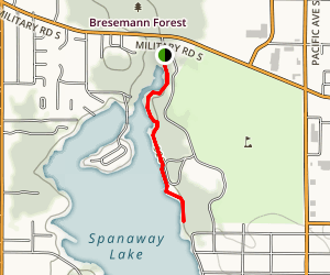 Spanaway Lake Trail Map