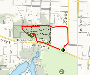 Bresemann Forest Trail Map