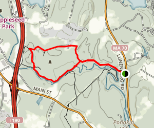 Lancaster Forest Loop Trail Map