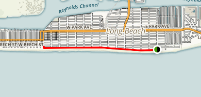 Long Beach Boardwalk Map