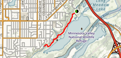 Long Meadow Lake Trail Map