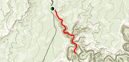 Collins Spring to The Narrows Map
