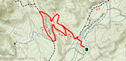 Tortuga Trail Map