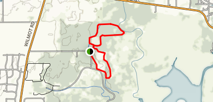 Badger and Goldfinch Trail Loops Map
