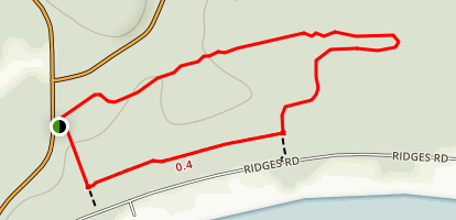 Ridges Trail Map