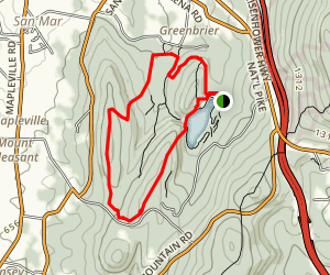 Big Red Trail Map