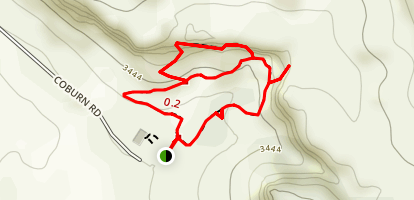 Pictograph Cave State Park Trail Map
