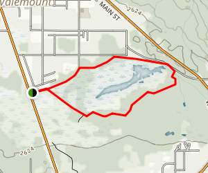 Cranberry Marsh Loop Map