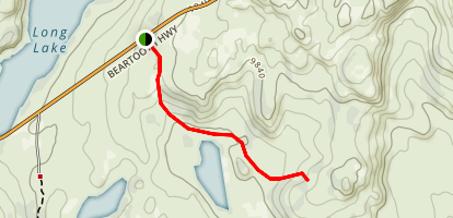 Hauser Lake Trail Map