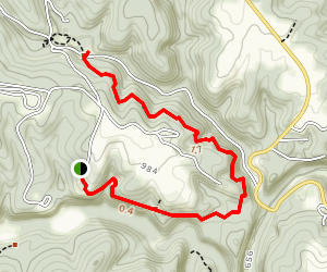 Carter Caves Trail Map