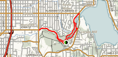 Whatcom Creek Trail Loop Map