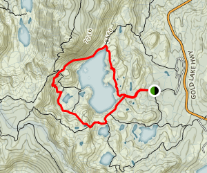 Long Lake Loop Trail Map
