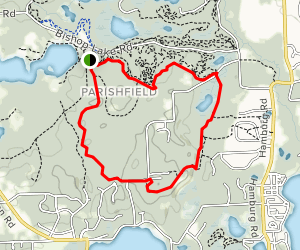 Penosha Trail Map
