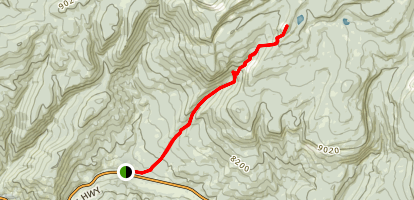 Castle Peak Map