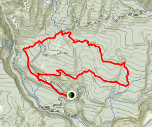 Log Chutes 1 and 2 Map