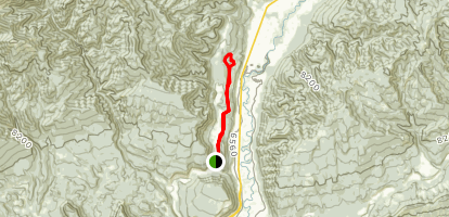 Hidden Valley (Church Camp) Loop [PRIVATE PROPERTY] Map
