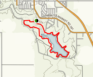 Lake Rita Blanca State Park Trail Map