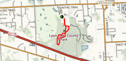 Coyote Corridor to Heron Loop Trail Map