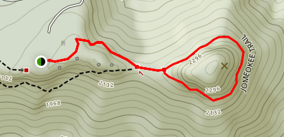 Jomeokee Trail Map