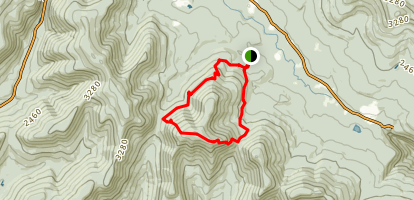 Sugarloaf Mountain Loop Trail Map