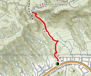 Telegraph Pass Trail  Map