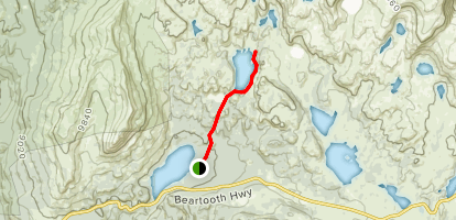 Beauty Lake Trail Map
