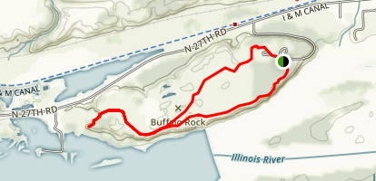 River Bluff Trail Loop Map