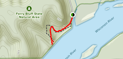 Ferry Bluff Map