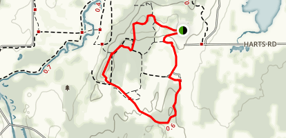 Glacial Park Loop Trail Map