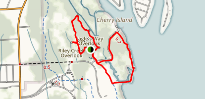 Cherry Island Marsh Trail and Trapper's Run Loop Map