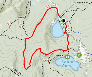 North Pond Loop Map