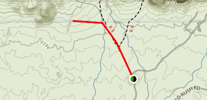 Robbers Roost-Superstition Map