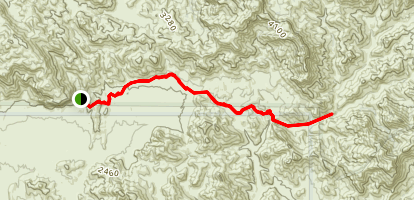 Coffee Flat Trail Map