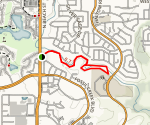 Buffalo Ridge Park Trail Map