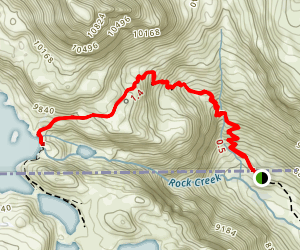 Glacier Lake Map